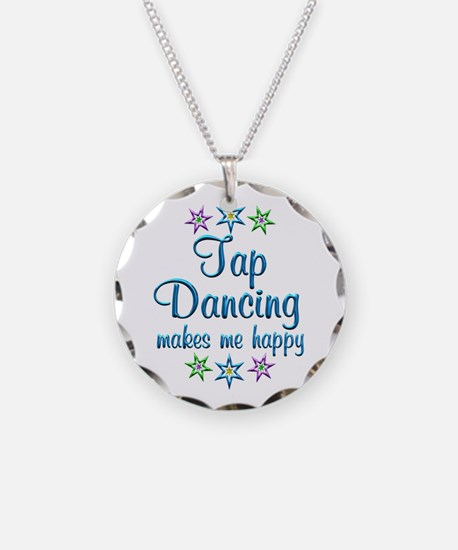 Tap Dancing Happy Necklace