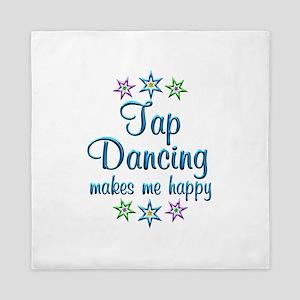 Tap Dancing Happy Queen Duvet