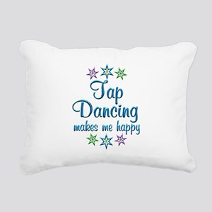 Tap Dancing Happy Rectangular Canvas Pillow