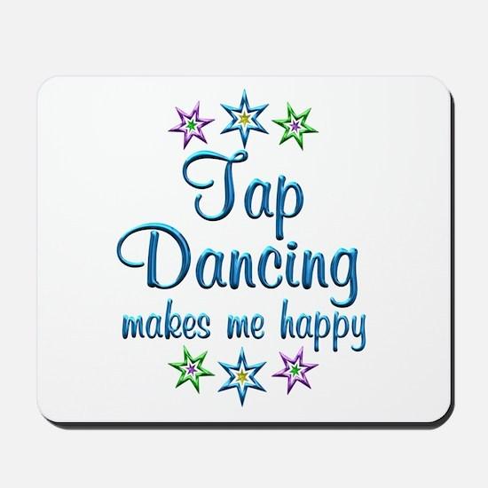 Tap Dancing Happy Mousepad