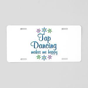 Tap Dancing Happy Aluminum License Plate
