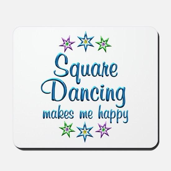 Square Dancing Happy Mousepad