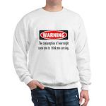 Beer Warning Sweatshirt