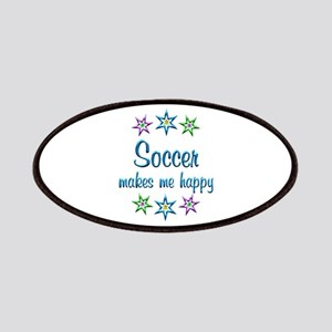 Soccer Happy Patches