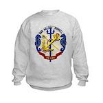 USS HALSEY POWELL Kids Sweatshirt