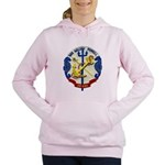 USS HALSEY POWELL Women's Hooded Sweatshirt