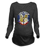 USS HALSEY POWELL Long Sleeve Maternity T-Shirt