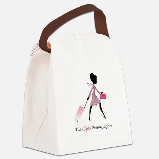 Unique Reporter Canvas Lunch Bag