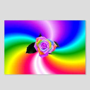 Full Spectrum Rose Postcards (Package of 8)