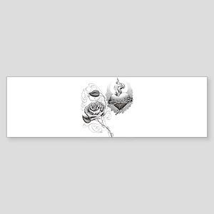 Captive Rose Bumper Sticker