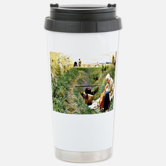 Larsson - Our Daily Bre Stainless Steel Travel Mug