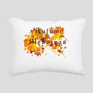 Autumn Blessings Rectangular Canvas Pillow