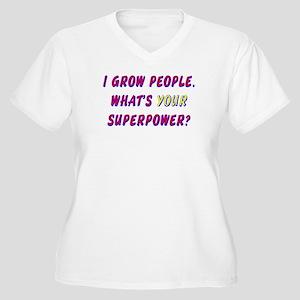 Superhero Mom Women's Plus Size V-Neck T-Shirt