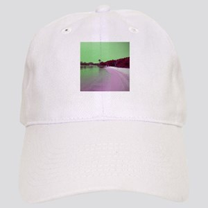 Jupiter Florida beach cove green magenta Baseball