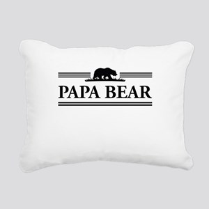 Papa Bear Rectangular Canvas Pillow