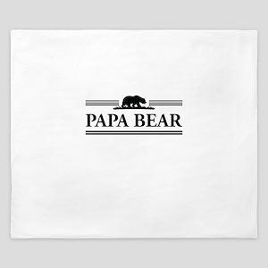 Papa Bear King Duvet