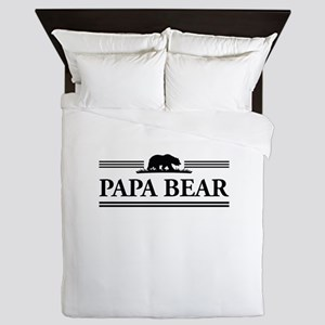 Papa Bear Queen Duvet