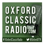 Oxford Classic Radio Square Car Magnet 3