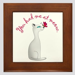 You Had Me At Meow Wall Art Cafepress
