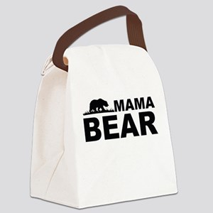 Mama Bear Canvas Lunch Bag