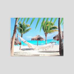 Tropical Paradise 5'x7'Area Rug