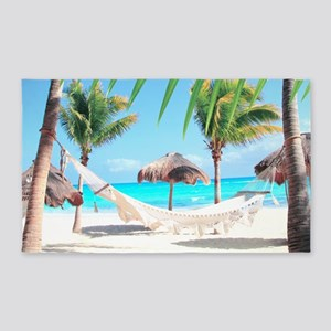 Tropical Paradise 3'x5' Area Rug