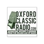 Oxford Classic Radio Sticker
