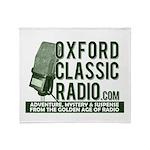 Oxford Classic Radio Throw Blanket