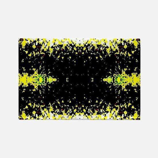 Light Art Rectangle Magnet