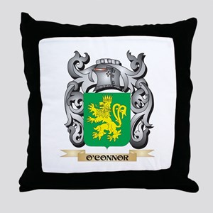 O'Connor- Coat of Arms - Family C Throw Pillow