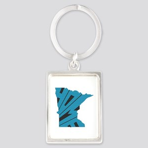 Minnesota Home Portrait Keychain