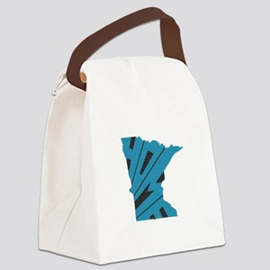 Minnesota Home Canvas Lunch Bag