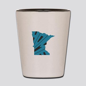 Minnesota Home Shot Glass
