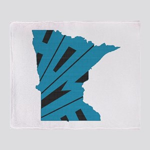 Minnesota Home Throw Blanket