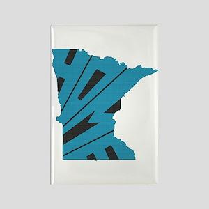 Minnesota Home Rectangle Magnet