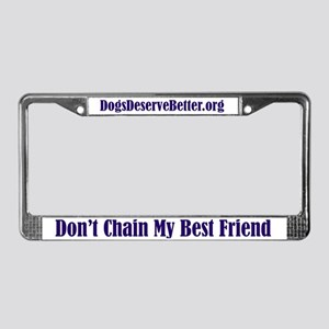 ilovedogs License Plate Frame