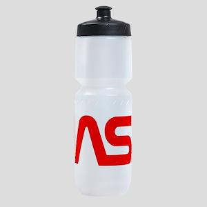 NASA Worm Logo Sports Bottle
