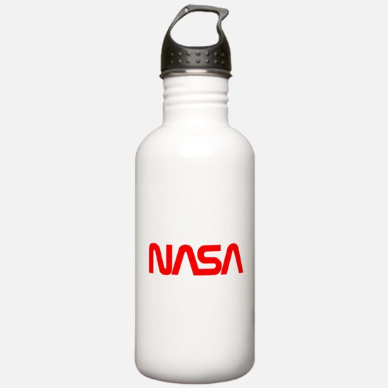 NASA Worm Logo Water Bottle