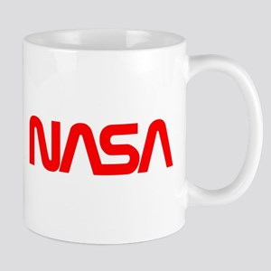 Nasa Worm Logo Mug Mugs