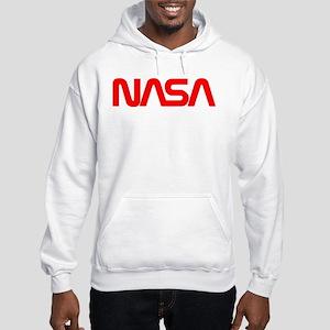 NASA Worm Logo Hooded Sweatshirt