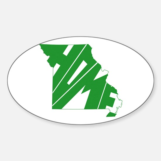 Missouri Home Sticker (Oval)