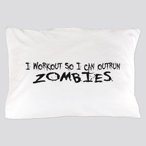 Outrun Zombies 1a Pillow Case