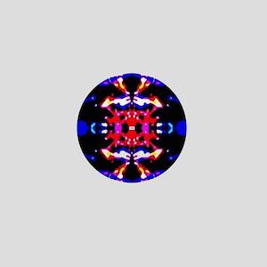 Fractal Pattern Mini Button