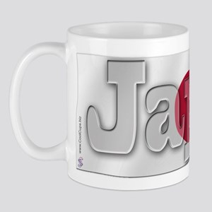 Soccer Flag Japan Mug