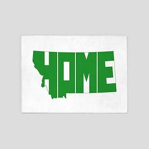 Montana Home 5'x7'Area Rug