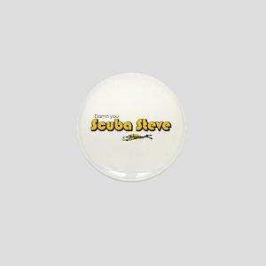Scuba Steve Mini Button