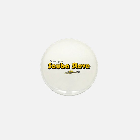 Scuba Steve Mini Button