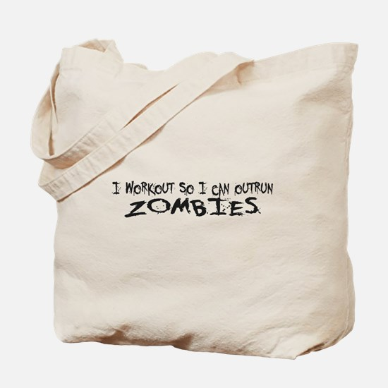 Outrun Zombies 1a Tote Bag