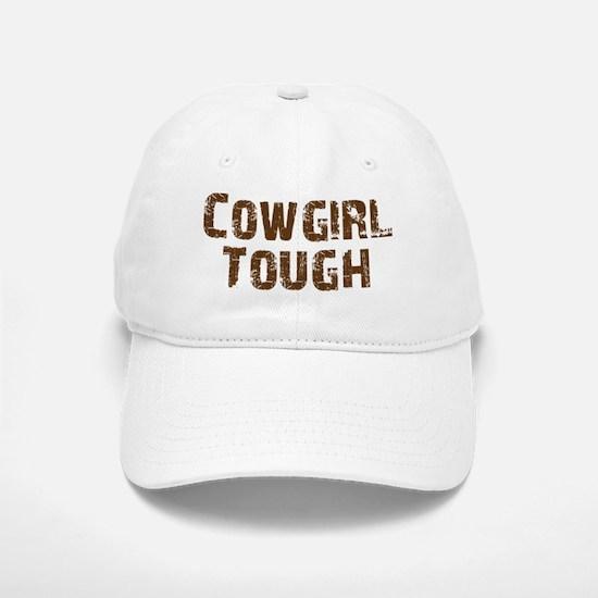 cowgirl_tough_brown.png Baseball Cap