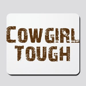 cowgirl_tough_brown Mousepad